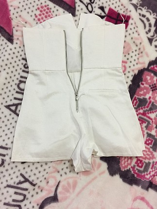 xs Beden Beyaz topshop tulum