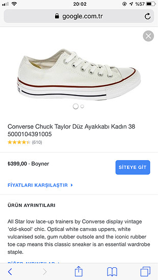Converse CONVERSE ALL STAR OX