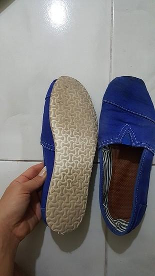 36 Beden mavi Renk toms ayakkabı