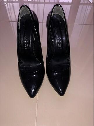 Bambi Bambi siyah stiletto ayakkabı