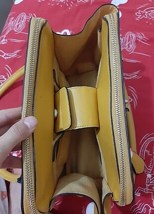 Beden sarı Renk Kadın kol çantası