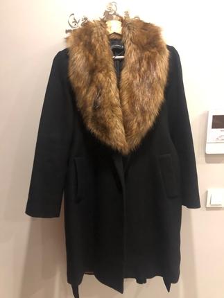 Zara siyah taba kürklü kaban