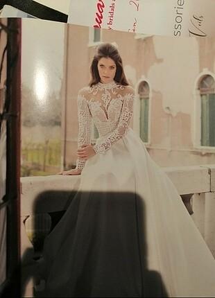 Kişiye Özel Tasarım Tarık Ediz Eva Bride Gelinlik