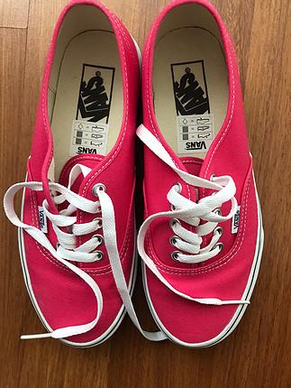 Vans kırmızı klasik sneaker