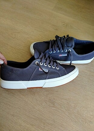 Superga gri renkli ayakkabı