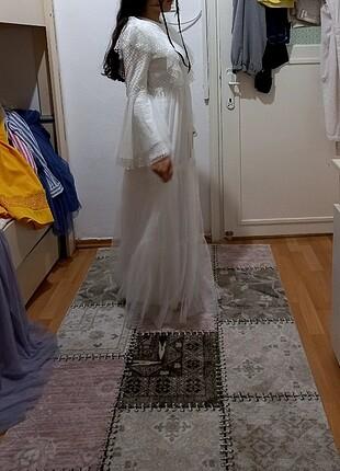 Diğer Beyaz elbise