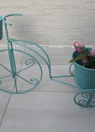 Pembe Yeşil Çiftli Bisiklet