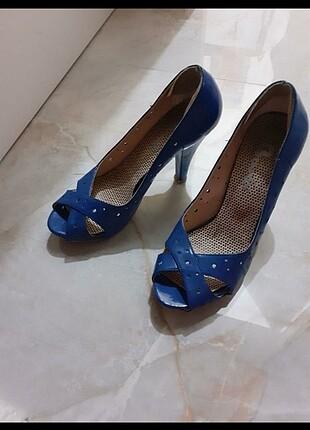 37 Beden Saks mavi bambi ayakkabı