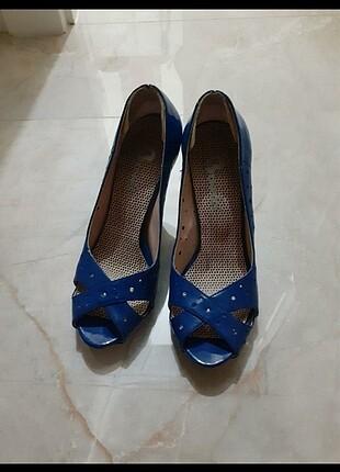 37 Beden mavi Renk Saks mavi bambi ayakkabı