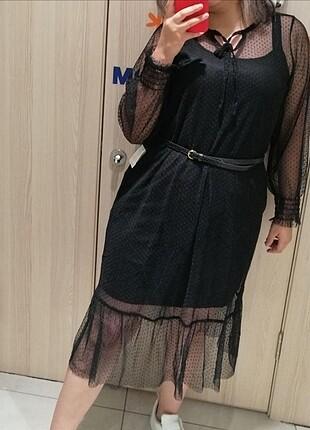 xl Beden Kadın Midi Boy Elbise