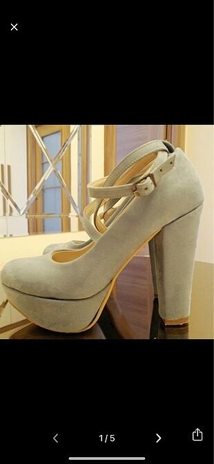 Platfrom Bağcıklı Ayakkabı