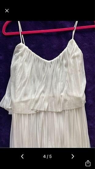 s Beden beyaz Renk Mango beyaz elbise