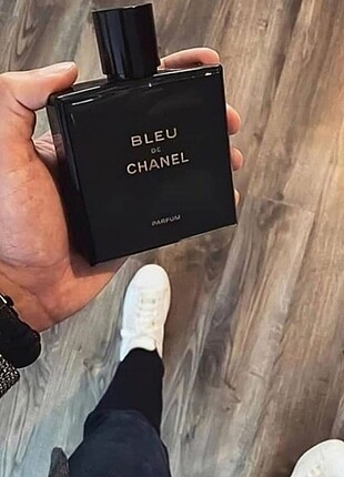 Blue. Chanel