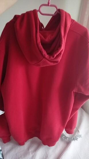 xxl Beden kırmızı Renk Sweat