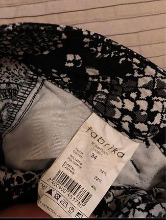 34 Beden siyah Renk Tertemiz fabrika pantalon