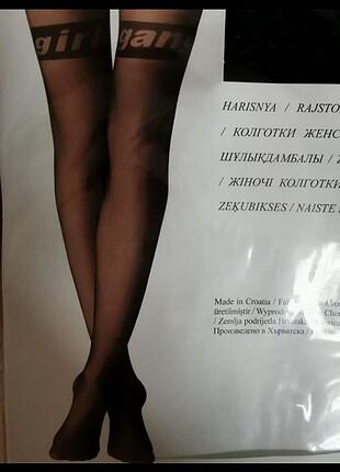 Calzedonia kadın yazılı külotlu çorap S-M beden