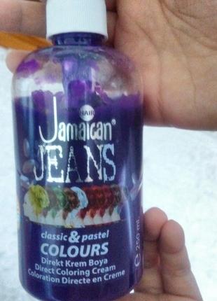 Jamaican Jeans Colours Lila Mor Sac Boyasi Markasiz Urun Sac