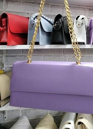 Lila portföy çanta
