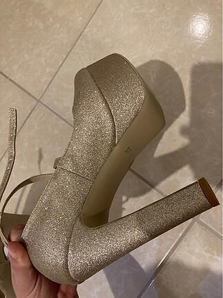 Platform Topuk Ayakkabı