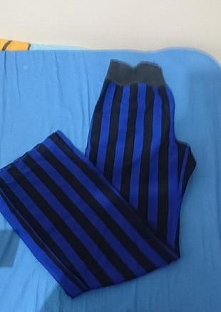 çizgili kumaş pantolon