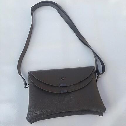 Gri kadın çanta