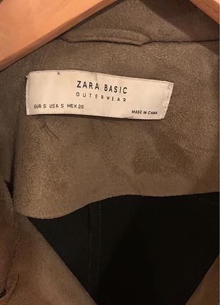 s Beden Zara ceket