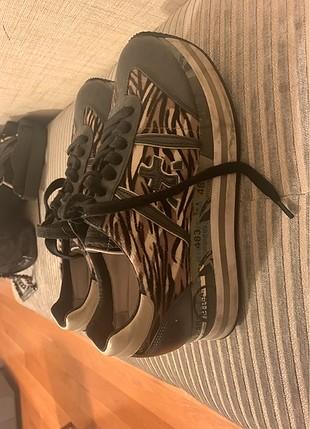Premiata yuksek tabanli spor ayakkabi