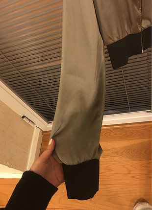 s Beden Saten tipi kısa ceket