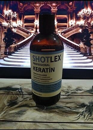 Shotlex Tuzsuz Keratinli Şampuan 525 ml . Az kullanılmıştır.