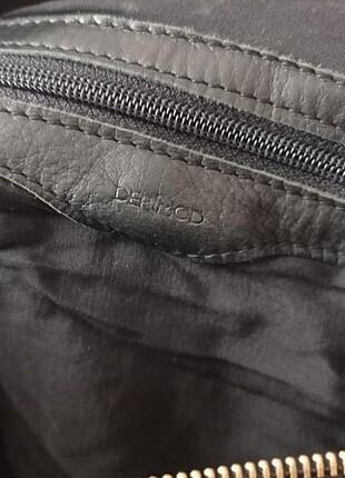 Beden Derimod hakiki deri siyah çanta