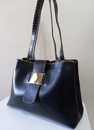 Vakko siyah çanta