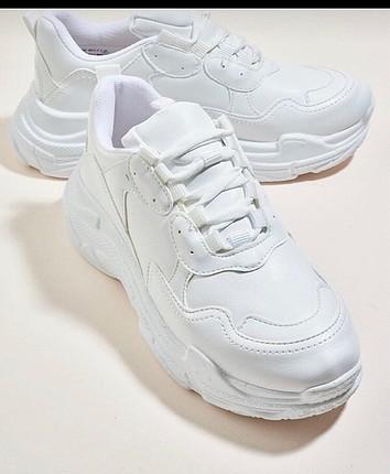 Bambi beyaz sneaker