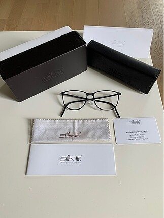 Silhouette optik gözlük çerçevesi