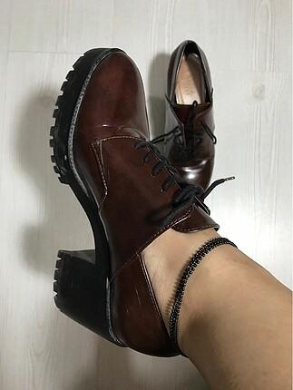 Zara Oxford model Zara ayakkabı