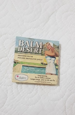 The Balm Desert Bronzer