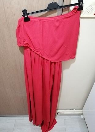 xl Beden kırmızı Renk Hamile elbisesi