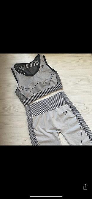 Gymshark hyper leggins takım