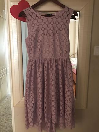 HM dantel elbise