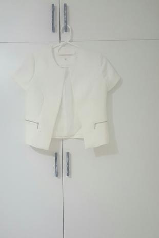 koton marka beyaz ceket