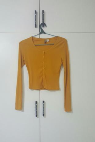 H&M marka kısa bluz