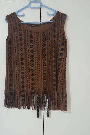 kilim desenli bluz
