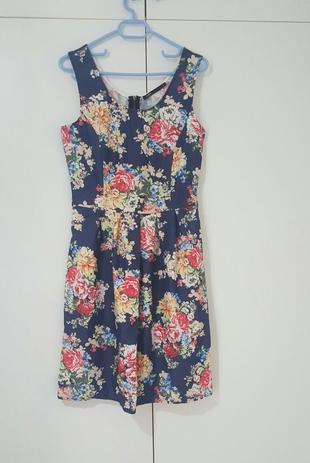 batik yazlık elbise