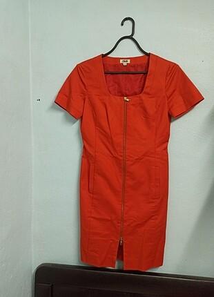 Beymen turuncu Elbise