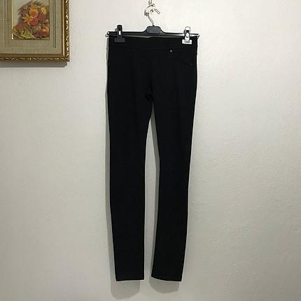 Siyah Tayt pantalon