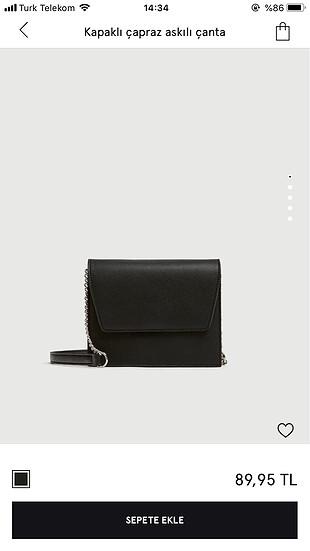 Pull&bear; siyah çanta