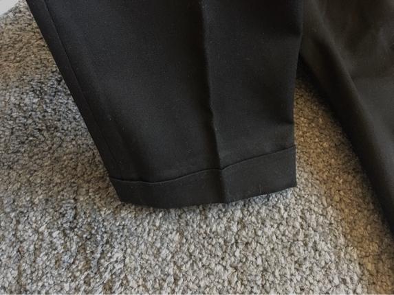 Zara Zara Siyah Kumaş Pantolon