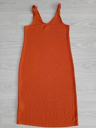 mango omuzdan burgulu elbise