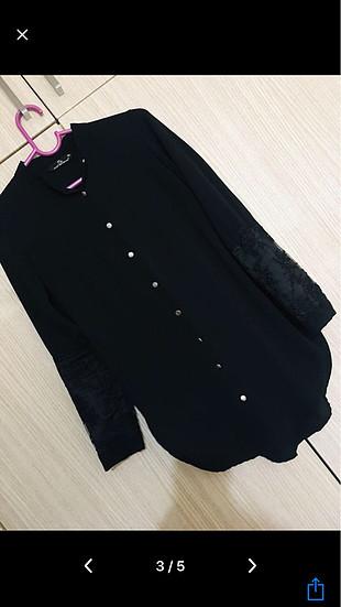 Abercrombie & Fitch Siyah gömlek