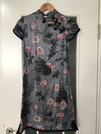 Japon stili elbise