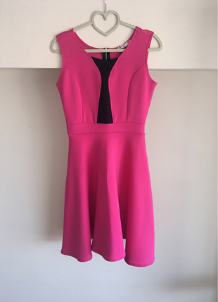 S/M beden uyumlu elbise Atlas kumaş